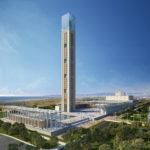 Rendering Moschee Algier - Urheber: KSP Jürgen Engel Architekten