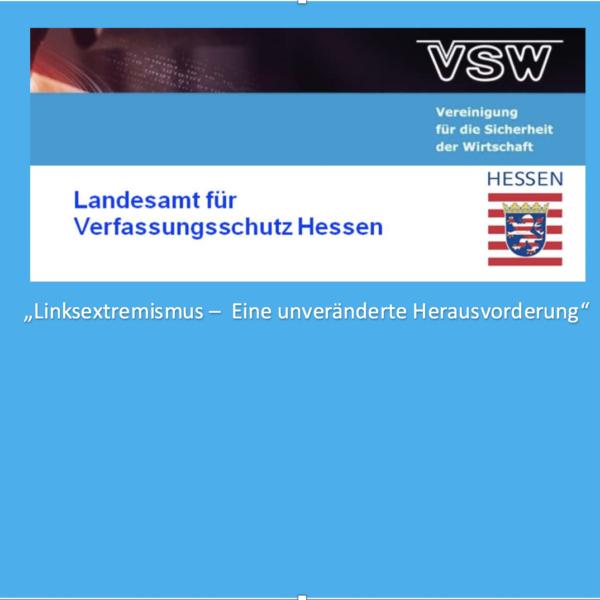 4. Veranstaltung LfV Hessen - VSW e.V. mit Unterstützung durch KWK