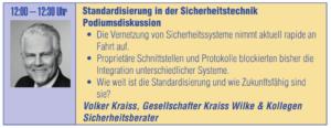 17. SICHERHEITSEXPO 2020 - Podiumsdiskussion mit Volker Kraiss