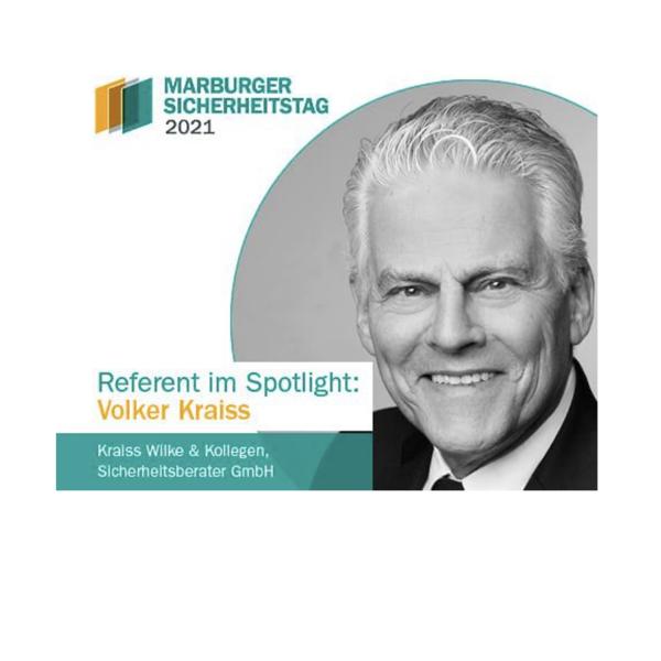 Marburger Sicherheitstag 2021 mit Experte Volker Kraiss