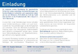 Sicherheit für Leitstellen: Fachdialog für Polizei- und Feuerwehrleitstellen S.2