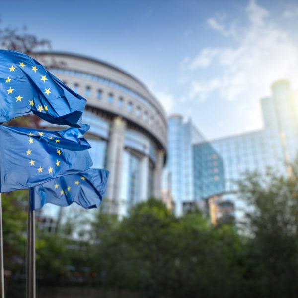 GeschGehG - Stock Foto EU-Parlament Brüssel