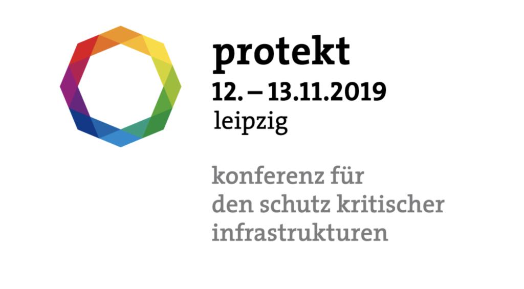 Corporate Security Vortrag von KWK GmbH auf Protect Leipzig 2019 Logo Protekt 2019 mit Sub_Text